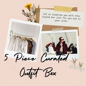 5 Piece outfit box curated & styled just for you!
